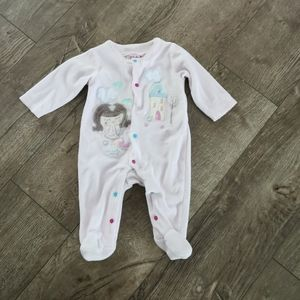 3/$15 Zip Zap baby girl sleeper 3-6 M